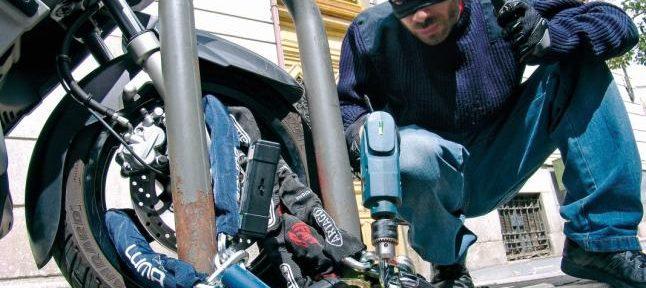 Razones para utilizar sistemas antirrobo en motos